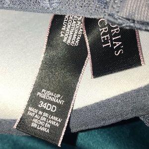 Victoria's Secret Intimates & Sleepwear - Victoria's Secret Gray Push Up Bra 34DD